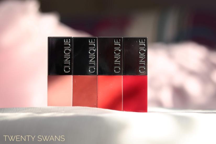 Review More Clinique Pop Lip Colours Bare Pop Ruby Pop Icon Pop
